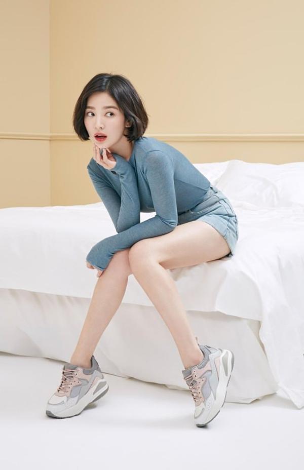 Song Hye Kyo mảnh mai nhờ uống nước chanh pha loãng thường xuyên