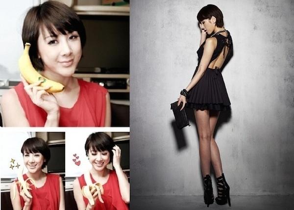 Seo In Young giảm được gần 3 kg trong một tuần nhờ thực đơn ăn kiêng với chuối.