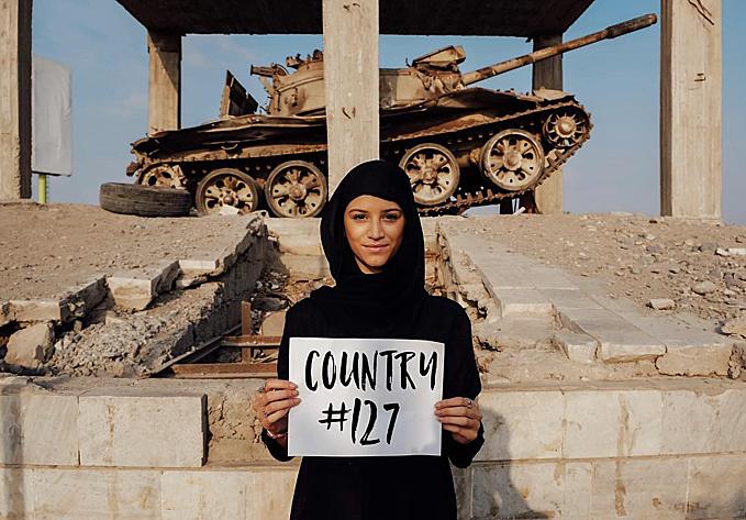 8.Cô gái 21 tuổi đã đến mọi quốc gia trên thế giới12