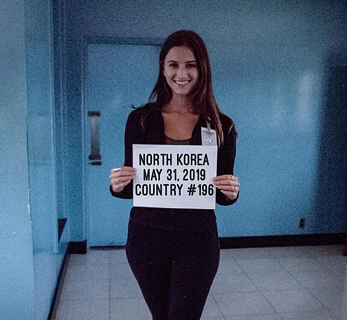8.Cô gái 21 tuổi đã đến mọi quốc gia trên thế giới9