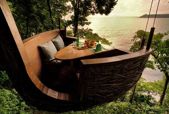9.Resort Thái Lan nơi bạn được phục vụ bữa ăn lơ lửng giữa rừng2