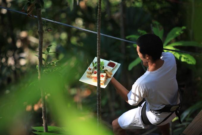9.Resort Thái Lan nơi bạn được phục vụ bữa ăn lơ lửng giữa rừng3
