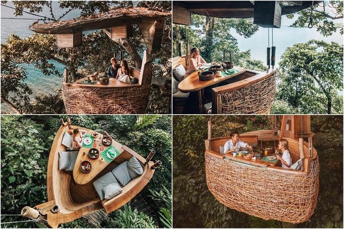 9.Resort Thái Lan nơi bạn được phục vụ bữa ăn lơ lửng giữa rừng4