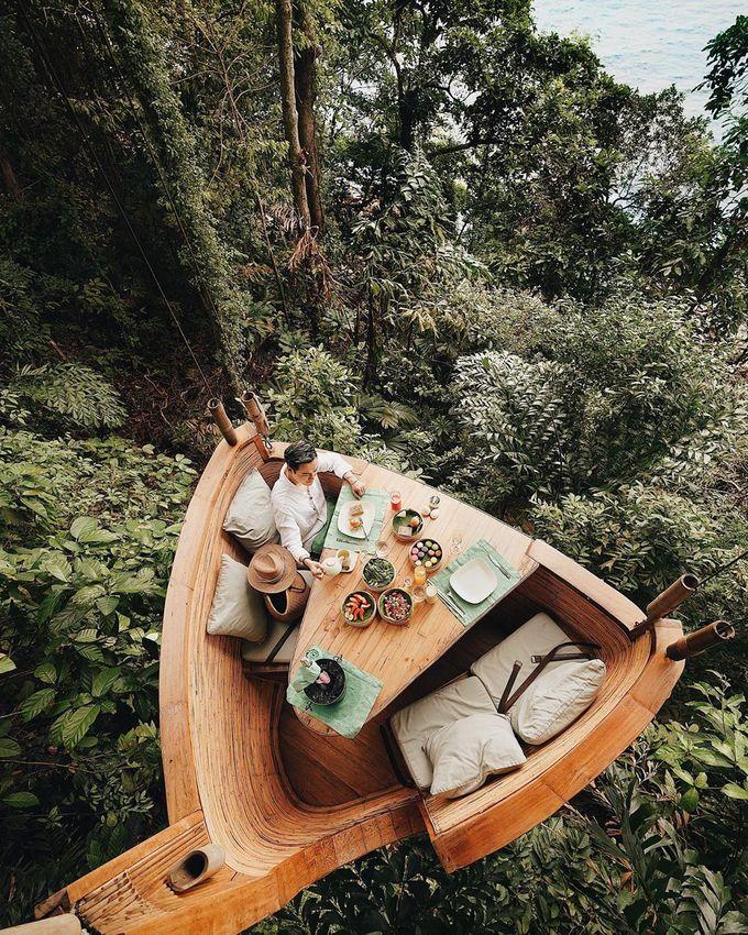 9.Resort Thái Lan nơi bạn được phục vụ bữa ăn lơ lửng giữa rừng5