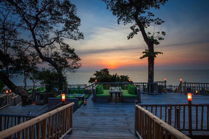9.Resort Thái Lan nơi bạn được phục vụ bữa ăn lơ lửng giữa rừng6