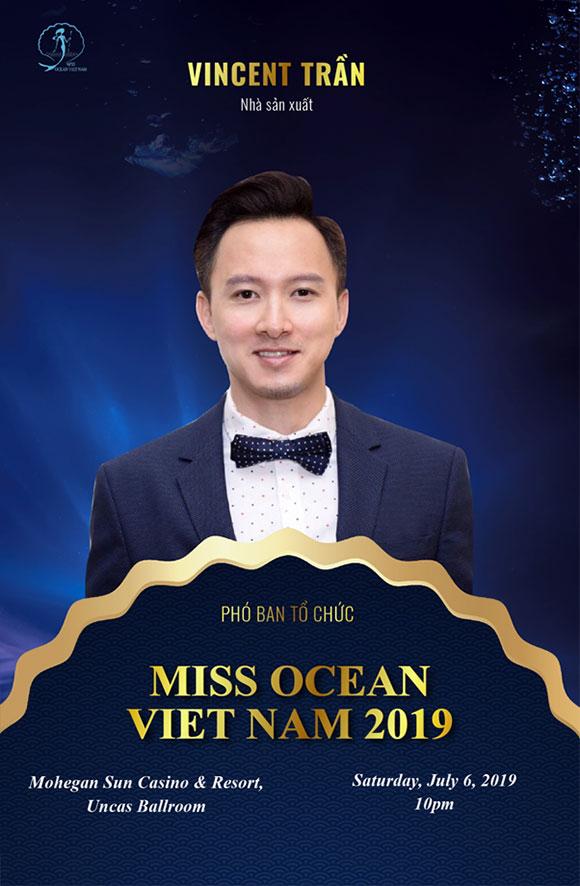 Phó Ban tổ chức, Nhà sản xuất Vincent Trần.
