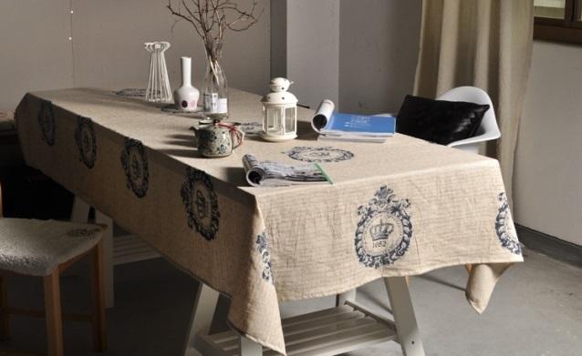 Khăn trải bàn làm sống không gian ngôi nhà bạn3
