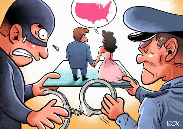 Người kết hôn giả có thể bị phạt tù, tước quốc tịch và bị trục xuất - Ảnh minh họa: LOOK