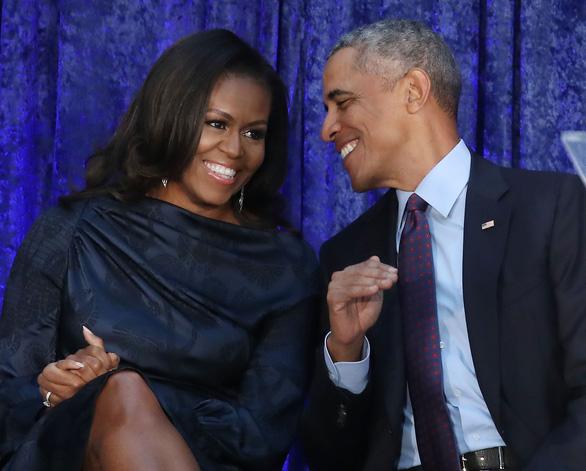 Ông bà Obama - Ảnh: TIME