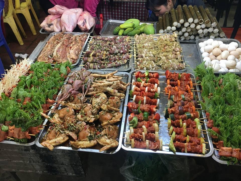 Ẩm thực đa dạng tại chợ đêm Tam Đảo