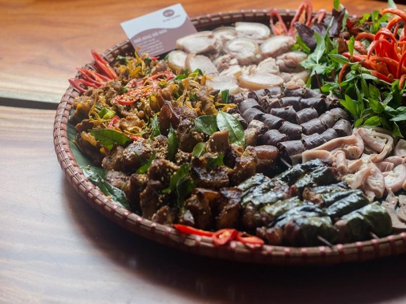 Các món ăn từ lợn mán được chế biến đa dạng