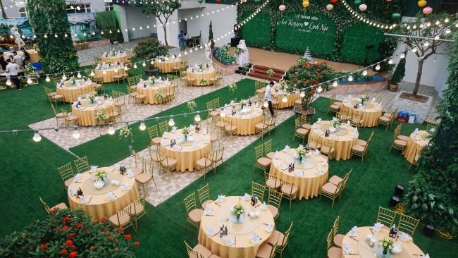 2.Tổ chức tiệc cưới ngoài trời và những điều các cặp đôi cần lưu ý