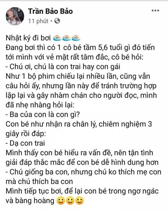BB Trần kể về câu chuyện lầy lội với bé gái tại hồ bơi khiến ai cũng bật cười