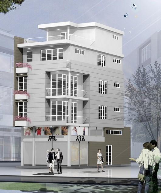 Thiết kế nhà phố hiện đại đẹp 02