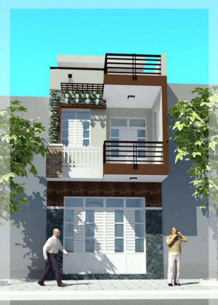 Thiết kế nhà phố hiện đại đẹp 13