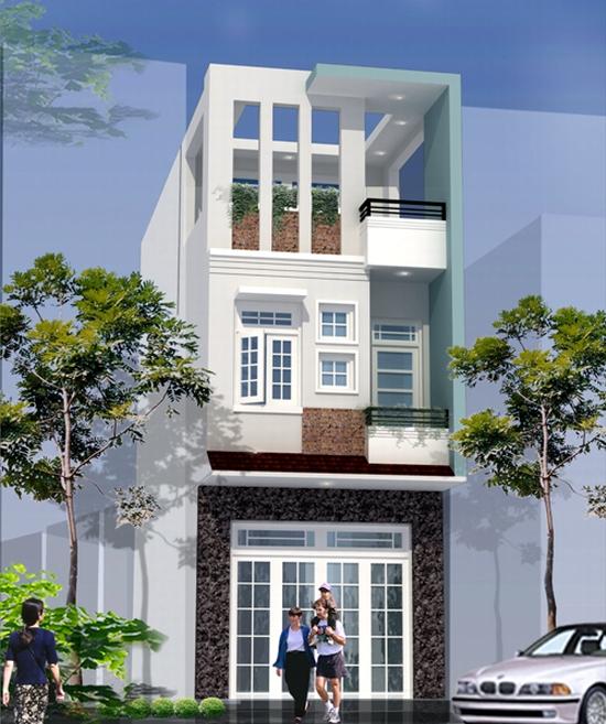hiết kế nhà phố hiện đại đẹp 14