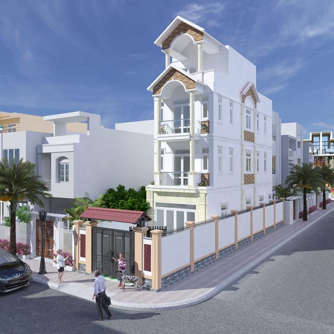 Thiết kế nhà phố hiện đại đẹp 15