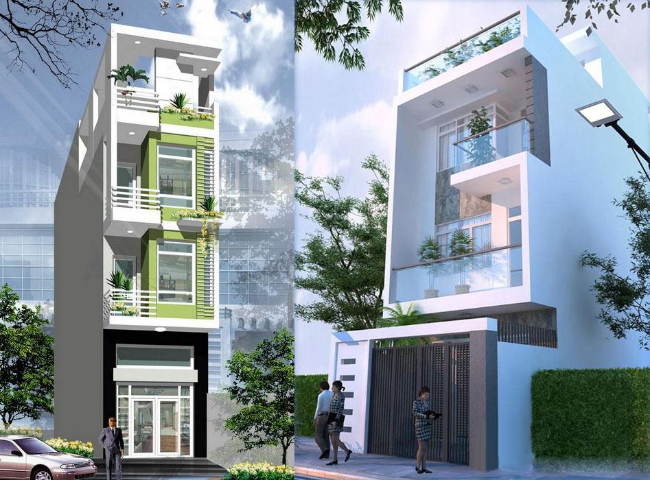 Thiết kế nhà phố hiện đại đẹp 04