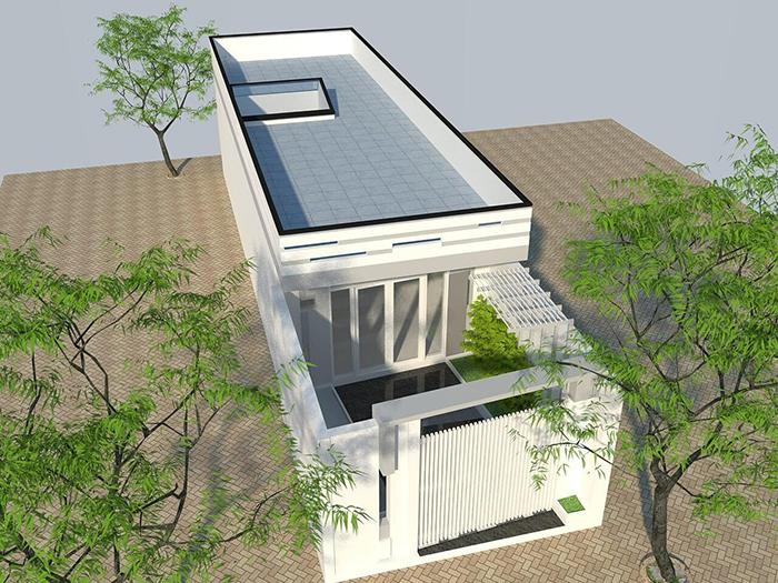 Thiết kế nhà phố hiện đại đẹp 07