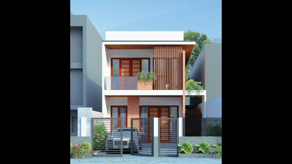 Thiết kế nhà phố hiện đại đẹp 09
