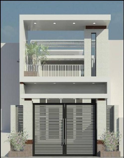 Thiết kế nhà phố hiện đại đẹp 10