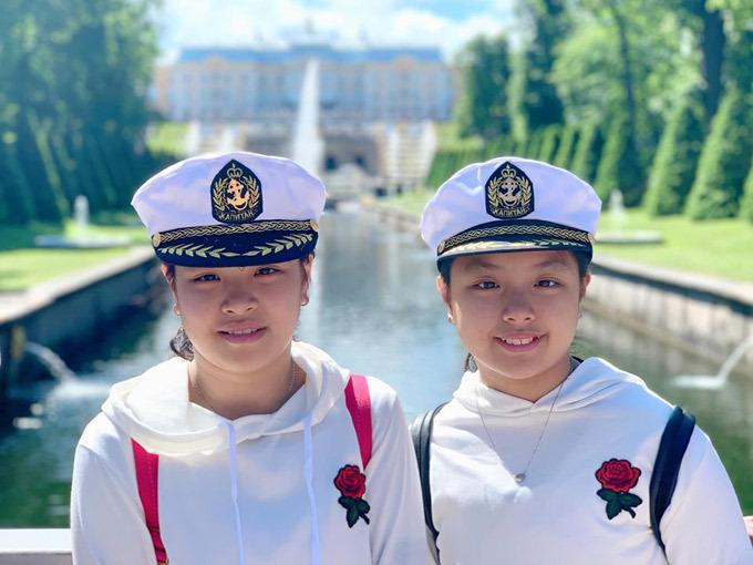 4.Thúy Hạnh - Minh Khang đưa hai con thăm nước Nga5