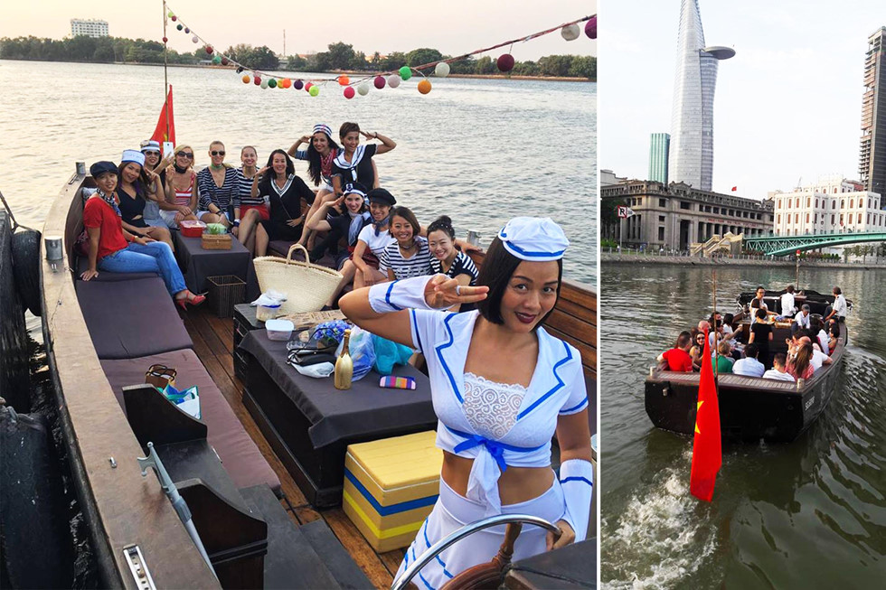Chiếc tàu được đóng nhằm phục vụ nhu cầu cá nhân của gia đình, sau trở thành phương tiện phục vụ mọi người du ngoạn sông Sài Gòn NVCC