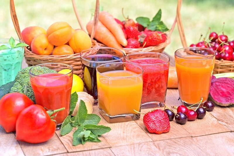 Các loại nước ép, nước trái cây giúp tăng cường sức đề kháng cho trẻ
