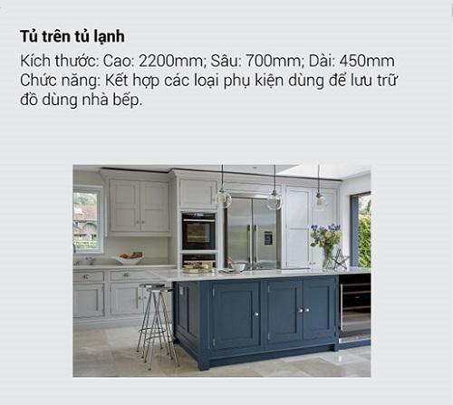 8.10 Kích thước tiêu chuẩn và chức năng chính của tủ bếp mà bạn muốn biết10