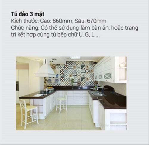 8.10 Kích thước tiêu chuẩn và chức năng chính của tủ bếp mà bạn muốn biết3