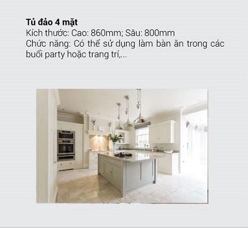 8.10 Kích thước tiêu chuẩn và chức năng chính của tủ bếp mà bạn muốn biết4