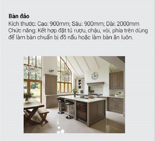 8.10 Kích thước tiêu chuẩn và chức năng chính của tủ bếp mà bạn muốn biết5