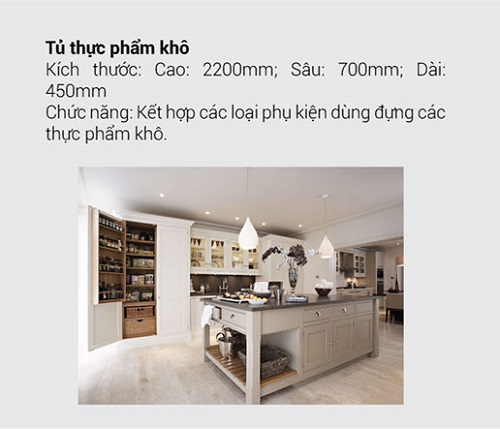 8.10 Kích thước tiêu chuẩn và chức năng chính của tủ bếp mà bạn muốn biết6