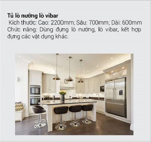 8.10 Kích thước tiêu chuẩn và chức năng chính của tủ bếp mà bạn muốn biết7