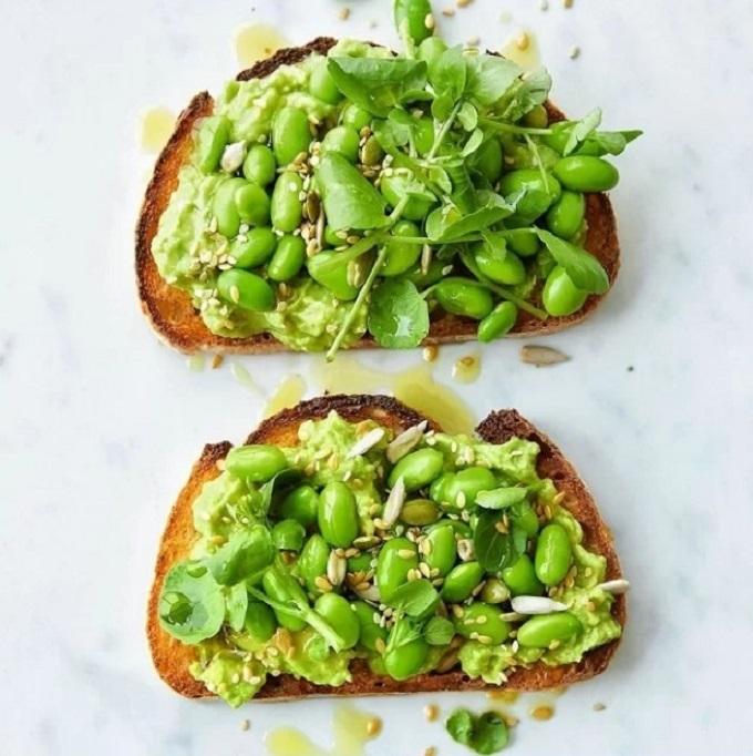 Protein thực vật có nhiều trong các loại đậu.