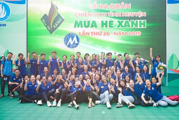 H'Hen Nie & Hoang Thuy, Dai su chien dich Mua he xanh (5)