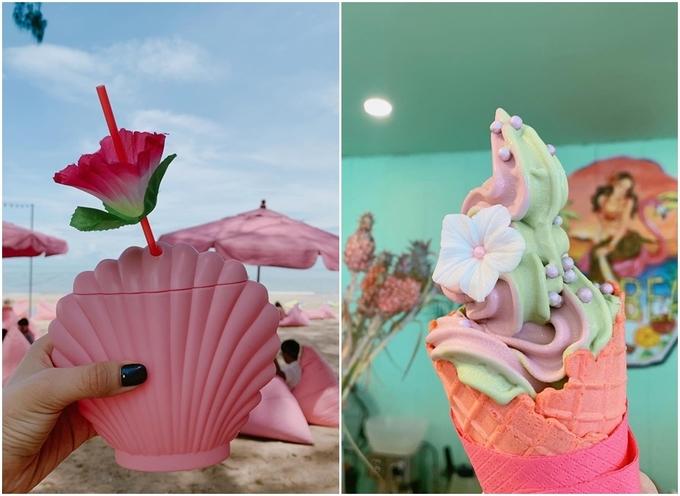 Quán bar màu hồng sát bờ biển Pattaya làm say lòng phái nữ5