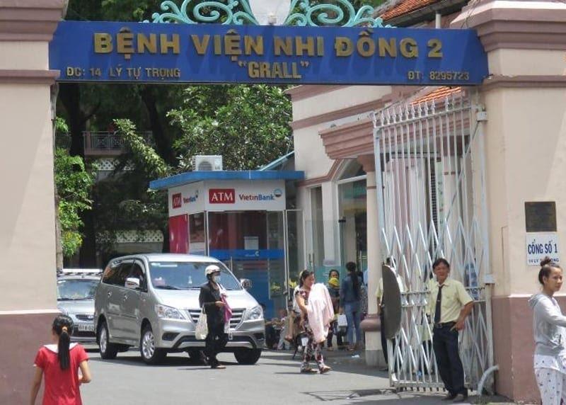 Bệnh viện Nhi Đồng 2 TP HCM