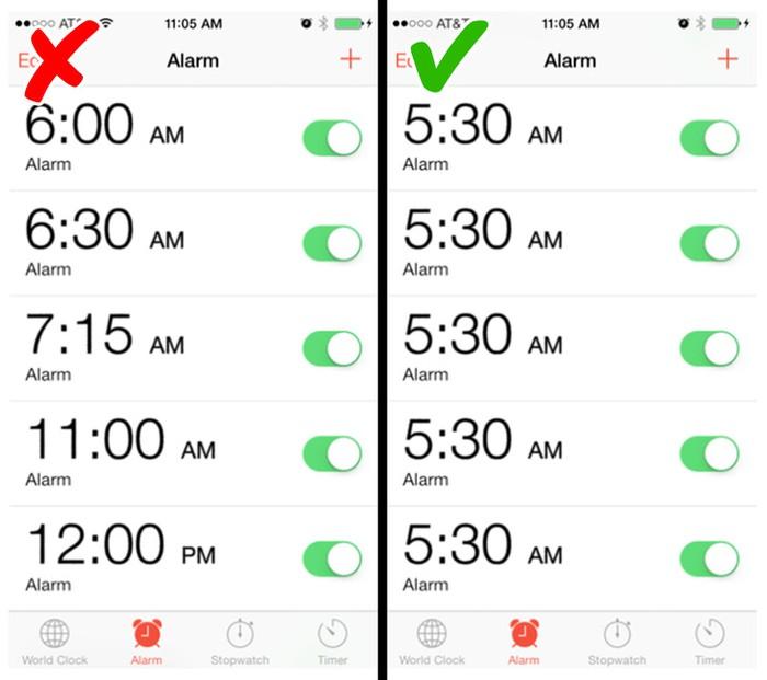 11. Điều gì sẽ xảy ra nếu bạn dậy trước 5 rưỡi mỗi ngày4
