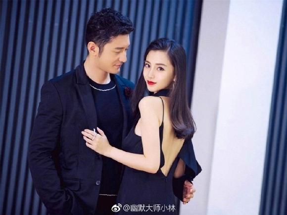 Huỳnh Hiểu Minh và Angelababy vướng tin đồn ly hôn.