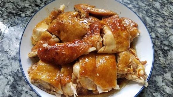 13.Cách làm món gà hấp vàng ươm, thơm ngon ngất ngây10