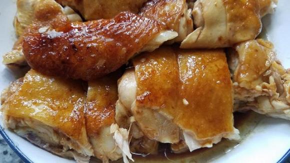 13.Cách làm món gà hấp vàng ươm, thơm ngon ngất ngây11