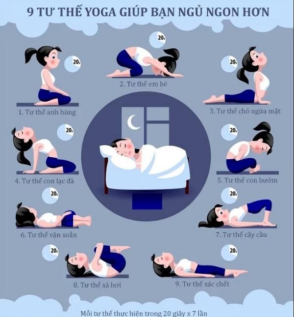 14. tư thế yoag giúp ngủ ngon