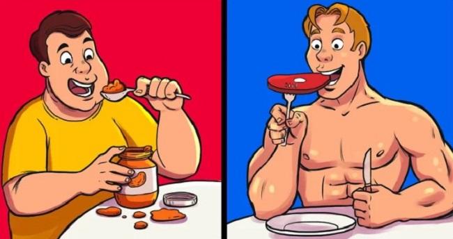 Nghĩ rằng calories trong mọi thực phẩm đều như nhau Mặc dù có cùng hàm lượng calories nhưng không phải tất cả các thực phẩm đều tốt. Ví dụ, bạn cùng ăn một khẩu phần 200 kcal nhưng sẽ chỉ tốt nếu đó là rau xanh còn nếu đó là một chiếc bánh burger thì lại không tốt chút nào. Đừng chỉ chăm chăm đếm lượng calories nạp vào mà cần quan tâm đến cả nguồn thực phẩm nữa.