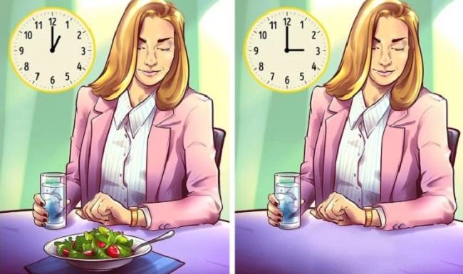 Ăn liên tục dù chưa đói  Bạn được khuyên chia nhỏ các bữa ăn trong ngày để giảm cân, tuy nhiên, ăn liên tục khi cơ thể chưa đói cũng có thể phá hỏng kế hoạch. Chìa khóa giúp giảm cân thành công là chỉ ăn vừa đủ no và thay đổi thực đơn phù hợp với thể trạng hàng tuần.