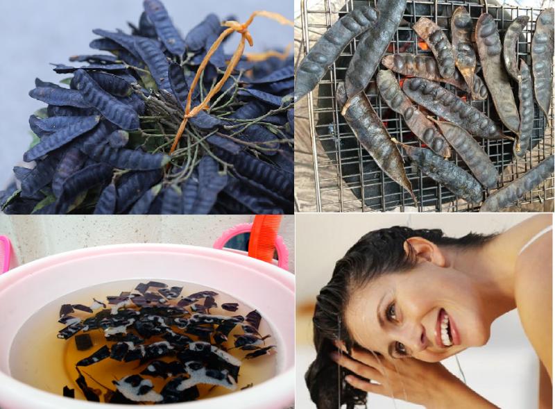 2. 3 nguyên liệu giúp tóc đen mượt chuẩn salon5