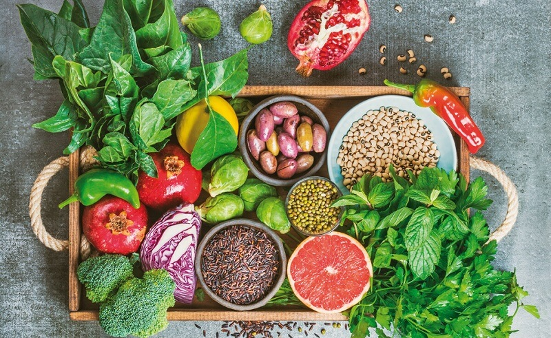 2. Nguyên liệu ăn chay tốt cho sức khỏe3