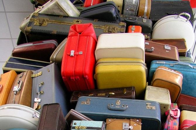 Hành lý thất lạc ở sân bay. Ảnh minh hoạ