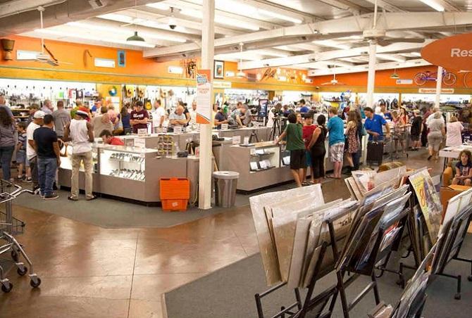 Trung tâm bán tài sản vô chủ ở Scottsboro, bang Alabama (Mỹ).