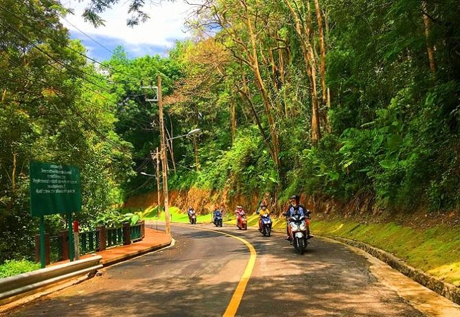 Đường lên Khao Rang ngày nắng đẹp